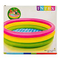 Intex 57422, Надувной бассейн Радуга