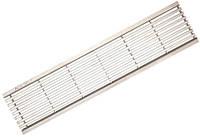 Решетка c нержавеющей стали 0,5 м