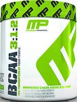 Аминокислоты BCAA 3:1:2 в порошке  от Muscle Pharm (30 порций)