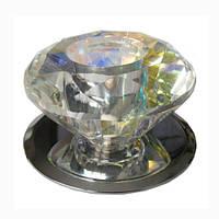 Спот Lemanso ST122S хром (multi color crystal) маленький G4