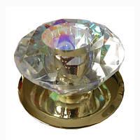 Спот Lemanso ST122S золото (multi color crystal) маленький G4
