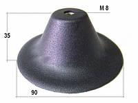 Универсальная монтажная база Пятак (черн.), фото 1