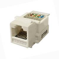 Гнездо 8P8C  для компьютерной розетки   Lemanso               LMR1009