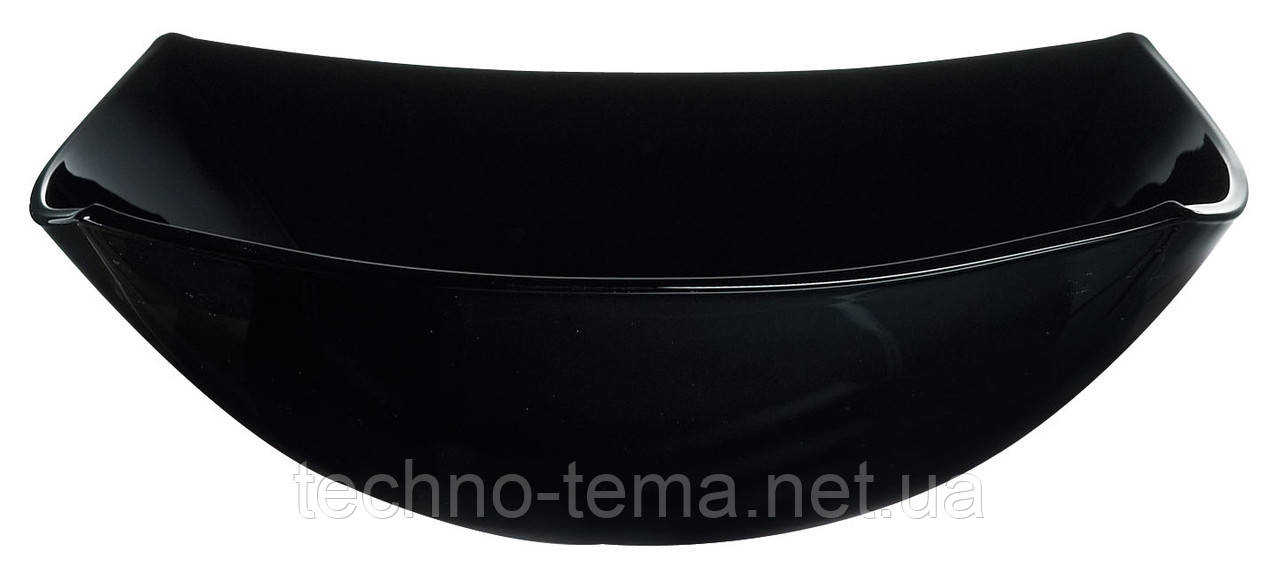 Салатник 24 см Quadrato Black Luminarc 06931