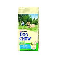 Сухой корм для щенков DOG CHOW Puppy с курицей. 14кг