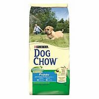 Сухой корм для щенков DOG CHOW Puppy Large Breed с индейкой. 14кг