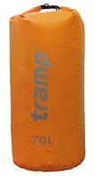 Гермомешок со шлейками PVC 70 л Tramp