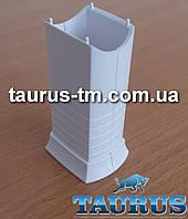 Белый маскировочный элемент для скрытия кабеля (провода) для электроТЭНа, white Польша