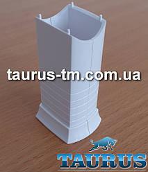 Білий маскувальний елемент для приховування кабелю (проводу) для электроТЭНа, white Польща