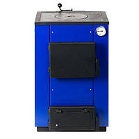 Котел MaxiTerm–12 ПБ (мощность 12 кВт с плитой и косой загрузкой)