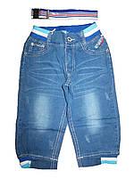 Джинсовые бриджи для мальчиков,  Nice Wear, размер 134,140,146 арт. GC-1558