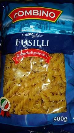 Макароны Combino Fusilli спиральки 500гр. Италия, фото 2