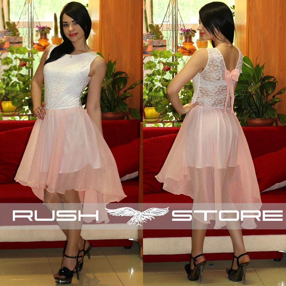 e7139c181095 Асимметричное шифоновое платье - RUSH STORE интернет-магазин женской одежды  в Николаеве