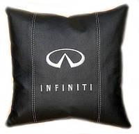 Подушка автомобильная с логотипом в машину инфинити Infiniti инфинити