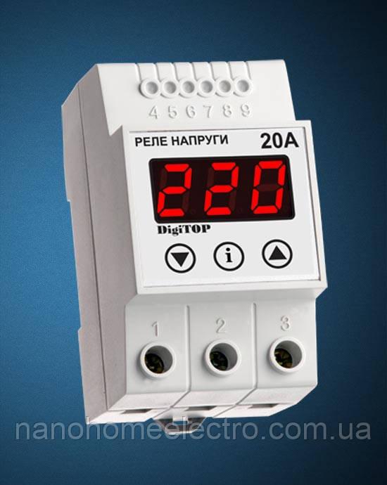 Реле контроля напряжения V-protector VP-20А