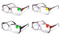 Очки для зрения в пластиковой оправе с диоптриями (Украинская вставка)