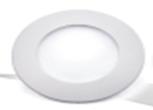 Светодиодный светильник,врезной круг,3W, 3000K,алюминий