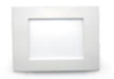 Светодиодный светильник,врезной квадрат,12W, 3000K,алюминий