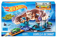 "Трек Hot Wheels ""Побег от гориллы"" BGH87"