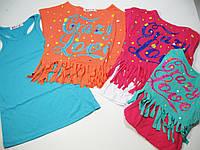 Комплект майка-туника с футболкой, размеры 116,122, Grace, арт. G 4674