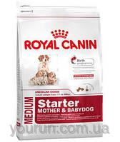 Royal Canin MEDIUM STARTER - первый твердый корм для щенков средних пород 1кг
