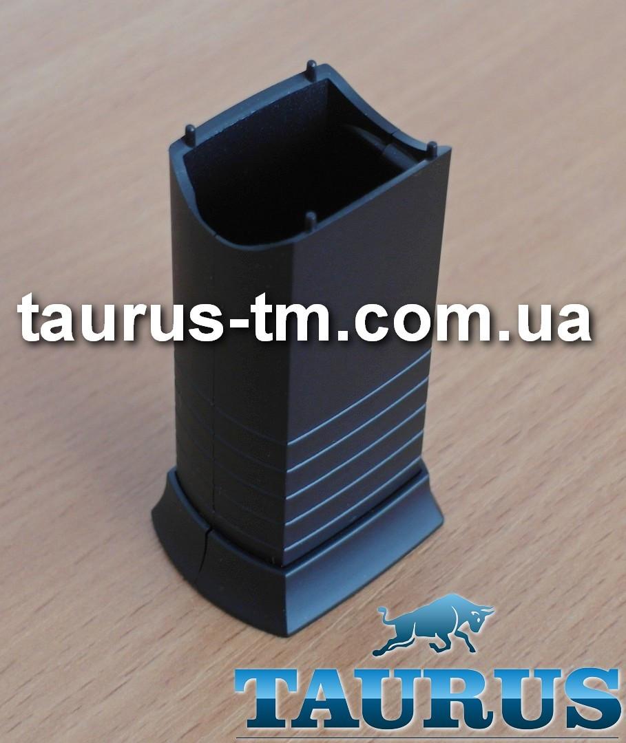 Чёрный маскировочный элемент для скрытия кабеля (провода) для электроТЭНа, black Польша