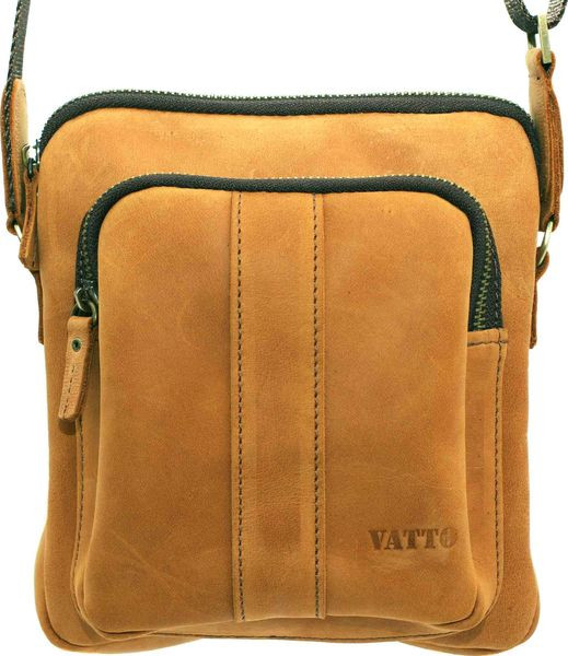 Чоловіча сумка з замшевої шкіри VATTO Mk48 Kr190 рудий