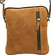 Мужская сумка из замшевой кожи VATTO Mk48 Kr190 рыжий, фото 2