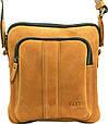 Мужская сумка из замшевой кожи VATTO Mk48 Kr190 рыжий, фото 4