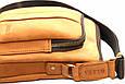 Чоловіча сумка з замшевої шкіри VATTO Mk48 Kr190 рудий, фото 7