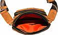 Мужская сумка из замшевой кожи VATTO Mk48 Kr190 рыжий, фото 8