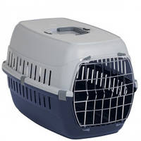 Moderna МОДЕРНА РОУД-РАННЕР 2 переноска для собак с металлической дверью, 58х35х37 см, синий
