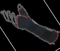 Шина на лучезапястный сустав с фиксацией пальца ReMED, (серый/черный)
