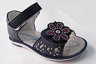 Босоножки, сандалии кожаные  для девочки р.25-30 ТМ Clibee (Румыния)