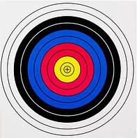 Мишень для стрельбы из арбалетов/луков, 60*60 см, разноцветная, набор из 10 штук