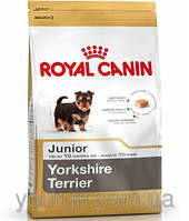 АКЦИЯ! Royal Canin YORKSHIRE TERRIER Junior УПАКОВКА 1,5 кг + 2 КОНСЕРВЫ ROYAL CANIN JUNIOR В ПОДАРО
