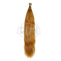 Славянские волосы в срезе 80 см. #Рыжий, фото 1