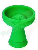 Чаша KLN Black для кальяна силиконовая наружная черная  Зеленый