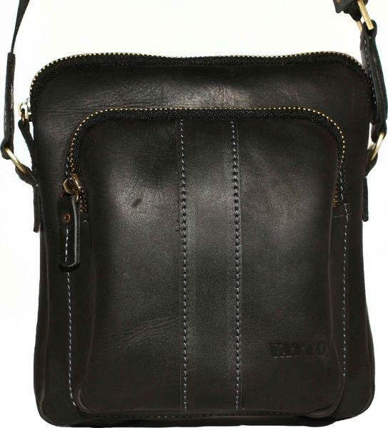 Мужская сумка из натуральной кожи VATTO Mk48 Kr670 черный