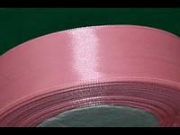 Стрічка атласна 25 мм ( 23 метри) рожевий 16304