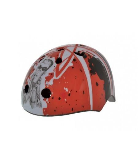 Шлем детский BELLELLI Taglia size-M ARTISTIK RED (графити красный)