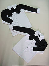 Рубашка на кокетке длинный рукав