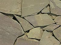 Камень песчаник серо-зеленый
