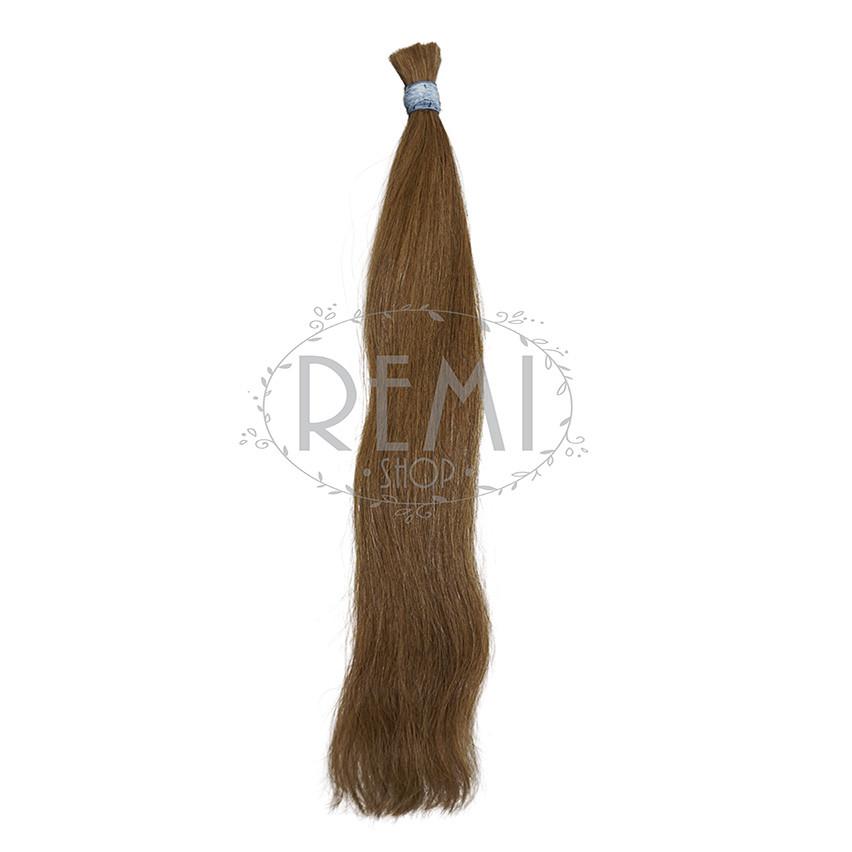 Славянские волосы в срезе 50 см. Цвет #Русый, фото 1
