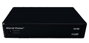 ТВ тюнер World Vision T57M T2