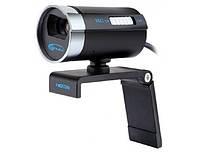 Веб камера hd 720p Gemix A20HD, 5 Мп, встроенный микрофон с подавлением шума, USB 2.0 соединение