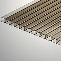 Сотовый поликарбонат Makrolon 10мм бронза