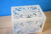 Сундук свадебный деревянный (белый)