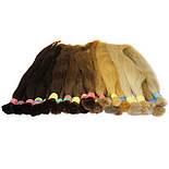 Срез славянских волос 60 см. Цвет #Коричневый, фото 10