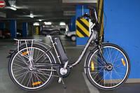Электровелосипед на базе городского велосипеда